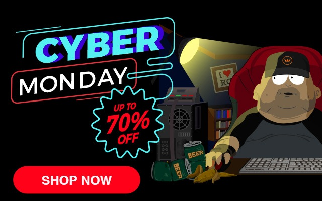 Cyber Monday Up To 70% OFF - Shop Now!