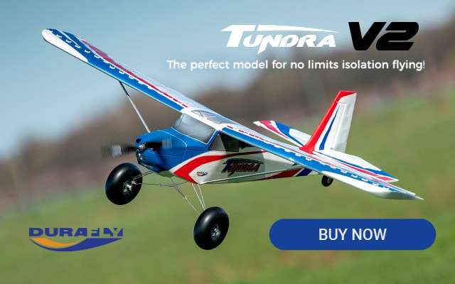 Tundra V2 - The perfect model for no limits isolation flying!