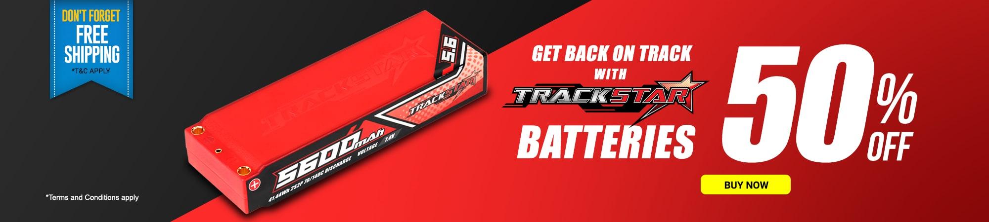 Trackstar Batteries