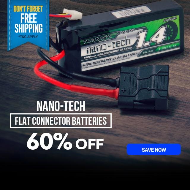 Nano Tech Flat Connector