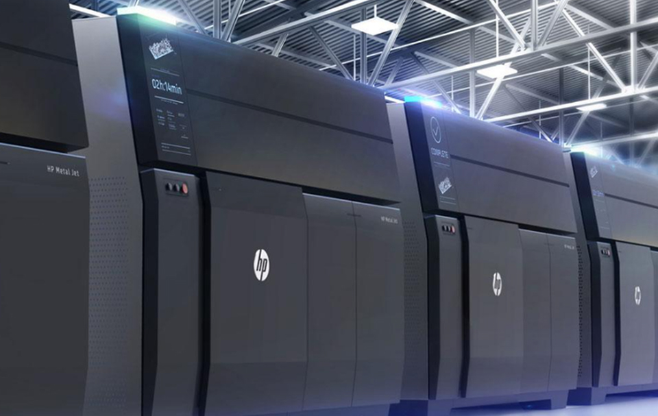 HP Announces 3D Printing for Mass Production