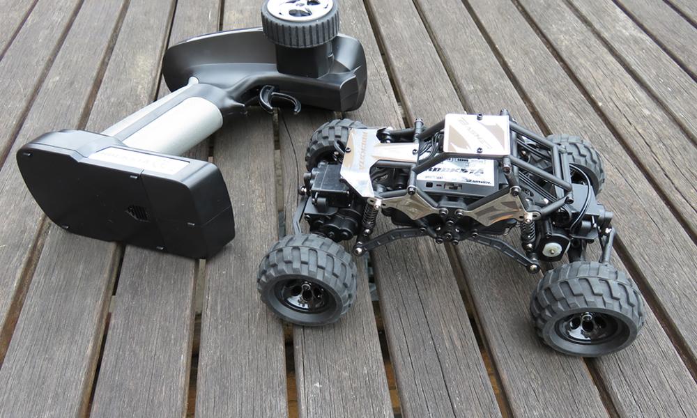 Basher Rocksta Crawler: My First RC Car